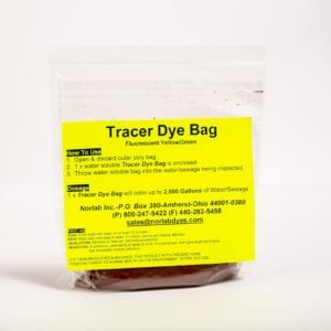 Norlab Tracing Dyes Tracing Dye Bag